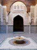Attarine Madrasah, Fez, UNESCO World Heritage Site, Morocco, North Africa, Africa Impressão fotográfica por Marco Cristofori