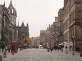 Royal Mile, the Old Town, Edinburgh, Scotland, Uk Photographic Print by Amanda Hall