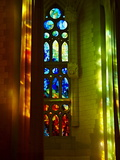 Sagrada Familia, UNESCO World Heritage Site, Barcelona, Catalonia, Spain, Europe Reproduction photographique