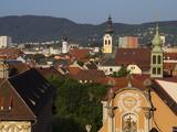 Kloster Spital, Barmherzigenkirche, UNESCO World Heritage Site, Graz, Styria, Austria, Europe Photographic Print by Dallas & John Heaton