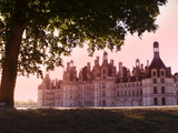 North Facade in the Early Morning, Chateau De Chambord, Loir-Et-Cher, Loire Valley, France Photographic Print by Dallas & John Heaton