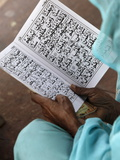 Women Reading at Jamma Masjid (Delhi Great Mosque), Delhi, India, Asia Photographic Print