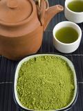 Japanese Matcha Tea, Japan, Asia Fotografie-Druck