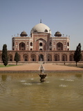 Fountain, Humayun's Tomb, Delhi, India, Asia Photographic Print