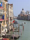 Grand Canal and Santa Maria Della Salute, Venice, UNESCO World Heritage Site, Veneto, Italy, Europe Fotografisk trykk av Amanda Hall