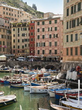 The Village of Camogli, Liguria, Italy, Europe Impressão fotográfica por Angelo Cavalli