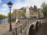 Keizersgracht, Amsterdam, Netherlands, Europe Photographic Print by Amanda Hall