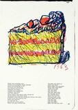 137 (One Cent Life) Samlertryk af Claes Oldenburg