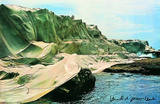 Wrapped Coast, c.1969 Collectable Print by  Christo