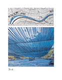 Over The Arkansas River IX, Project Collectable Print by  Christo