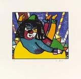 Unter der Zirkuskuppel, c.1997 Rajoitettu erä tekijänä Otmar Alt