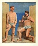 Die Panflöte, c.1923 Impressão colecionável por Pablo Picasso