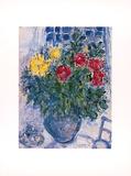 Blumenstilleben Kunst af Marc Chagall