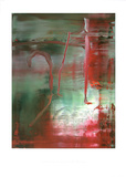 Abstraktes Bild 889-5, c.2004 Reproduction pour collectionneur par Gerhard Richter