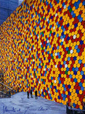 The Wall Nr. 6 Collectable Print by  Christo