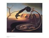 Der erhabene Augenblick Poster von Salvador Dalí