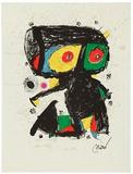 Jubiläum, c.1979/1980 WVZ 1192 Keräilyvedos tekijänä Joan Miró