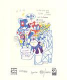 Werkverzeichnis mit Grafik A Impressão colecionável por Friedensreich Hundertwasser