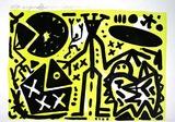 Lausanne 5 Zentrale Figur Edição premium por A. R. Penck