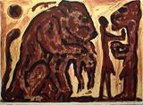 Erinnerung unbekannt Edição limitada por A. R. Penck