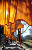 The Gates, Foto 51 Collectable Print by  Christo