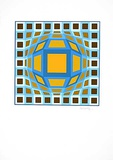 Sans Titre 5 (F.V. 3/30) Limited Edition by Victor Vasarely