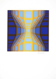 Sans Titre 7 (F.V. 3/30) Limited Edition by Victor Vasarely