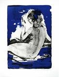 Rücken vor blau III, c.2007 Limited Edition av Reinhard Stangl