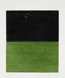 Ohne Titel Schwarz/Grün, c.2000 Særudgave af Gunther Forg