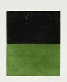 Ohne Titel Schwarz/Grün, c.2000 限定版アートプリント : ギュンター・フェルク