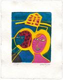 Maison jaune Limited edition van  Corneille