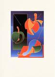 Drei Früchte Limitierte Auflage von Ludwig Gebhard