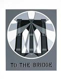 To The Bridge (from the American Dream Portfolio) Serigrafi (silketryk) af Robert Indiana