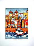 Costa Dorada, c.2002 限定版アートプリント : ギュンター・フライズ