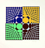 Vega Aix Limited Edition by Victor Vasarely