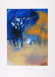 Bäume Blau, c.2001 Limited Edition by Hans Richter
