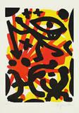 Serie II Sie (Rot-Gelb) Edição limitada por A. R. Penck