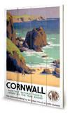 Cornwall Holzschild