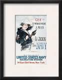 World War I: U.S. Navy Impressão giclée emoldurada por Howard Chandler Christy