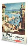 St Ives Wood Sign