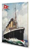 Titanic Træskilt