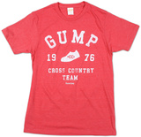 Forest Gump - Cross Country (Slim Fit) Tshirts