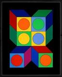 Motiv VIII Édition limitée par Victor Vasarely