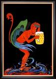 Biere au Diable Kunstdrucke von Eugene Oge