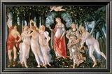 Primavera Art by Sandro Botticelli