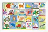 O alfabeto Posters por Claire Beaton