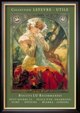 Biscuits Lu Recommandes Poster von Alphonse Mucha