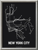 New York City Prints by  Line Posters