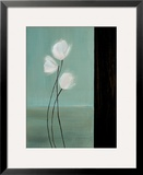 Aqua Breeze II Impressão giclée emoldurada por Karen Lorena Parker
