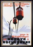 Skiing and Tram Kunst von Paul Ordner